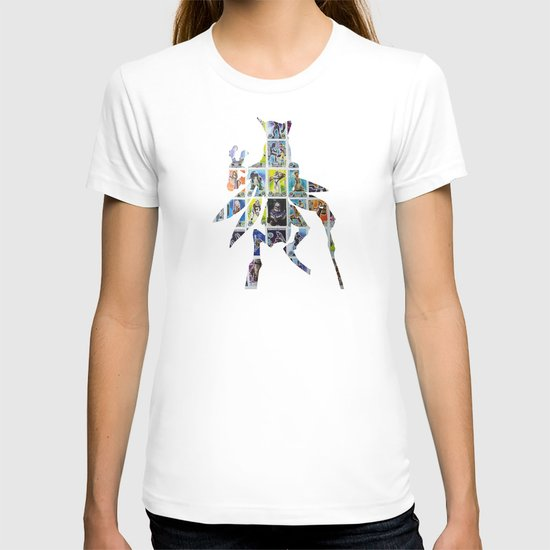 Cut StarWars Collage 7 T-shirt