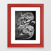 From My Mouth Framed Art Print