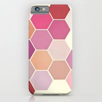iPhone & iPod Case featuring Shades of Pink by Cassia Beck