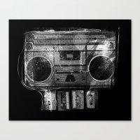 DOOMBOX Canvas Print
