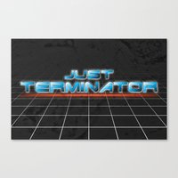 Anyone Else Hella Confused by the renaming of Terminator  Canvas Print