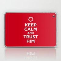 Keep Calm & Trust Him Laptop & iPad Skin