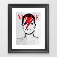Vogue Magazine Cover. Ka… Framed Art Print