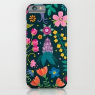 Floral Heart iPhone 6 Slim Case