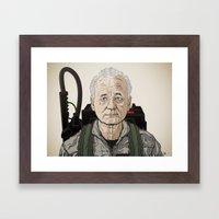 Dr. Venkman 2013 Framed Art Print