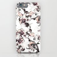 iPhone & iPod Case featuring Orange Orchid by Laura Irwin Art