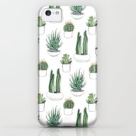 Watercolour Cacti And Su… iPhone 5c Slim Case