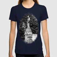 Grace Womens Fitted Tee Navy SMALL