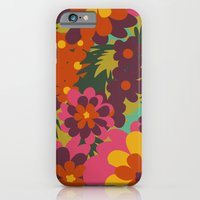 iPhone & iPod Case featuring Flowers for Lola (garden) by Veronica Galbraith