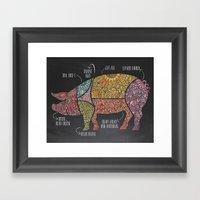 Dinnertime Framed Art Print