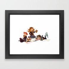 Important Wizarding Framed Art Print