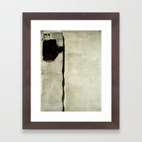 What a strange, squiggly thing. Framed Art Print