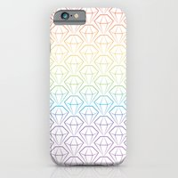iPhone & iPod Case featuring Rainbow Emeralds pattern by Daniel Bevis