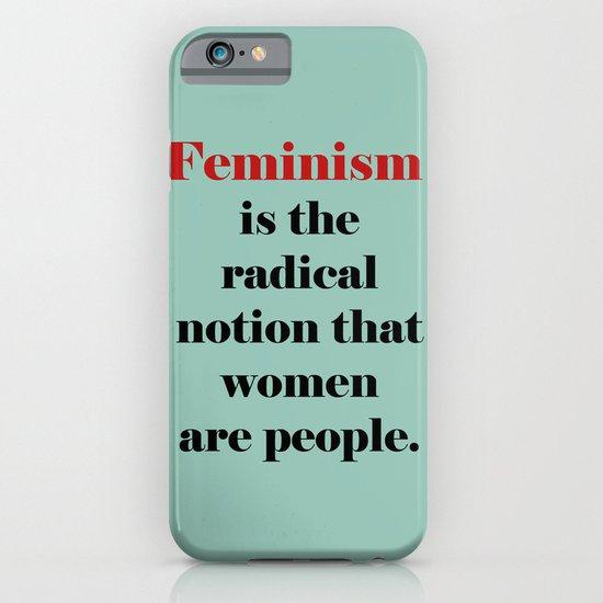 Feminism  iPhone & iPod Case