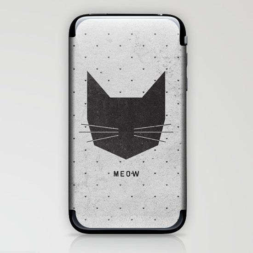 MEOW iPhone & iPod Skin