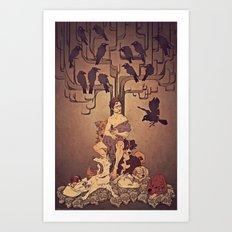 Meditations on Murder - nbc Hannibal Art Print