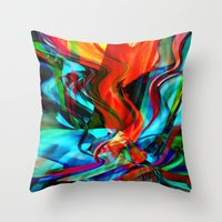Love Tornado Throw Pillow