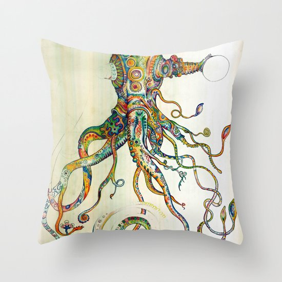 The Impossible Specimen Throw Pillow