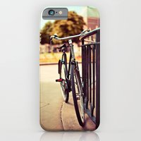 iPhone & iPod Case featuring Old vintage style bike by Innershadow Photography
