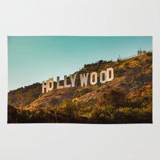 Hollywood Sign Rug