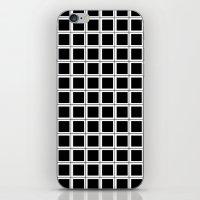 Box - think outside of it! iPhone & iPod Skin