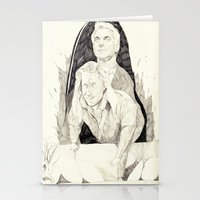 Killer Twin Peaks Stationery Cards
