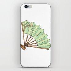 Fan iPhone & iPod Skin