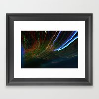 Long Light Framed Art Print