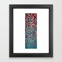 Drop Down Framed Art Print