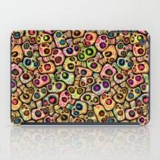Calaveras del Día de los Muertos. iPad Case