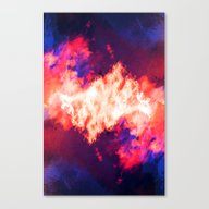Canvas Print featuring SleepyHead ~ Analog Zine by Caleb Troy