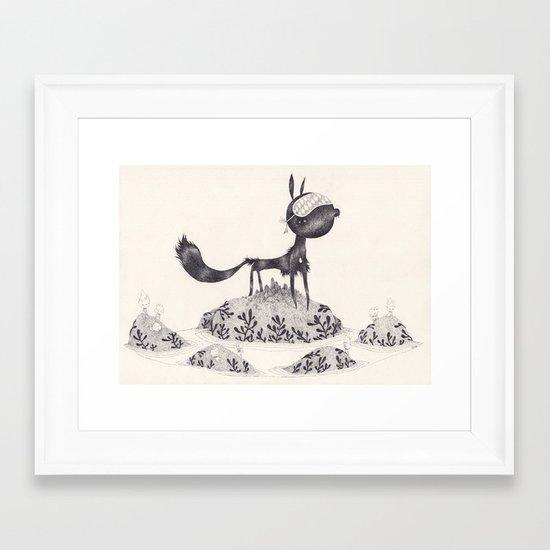 wherewolf Framed Art Print