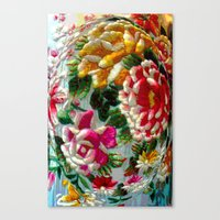 Chintz Egg Canvas Print