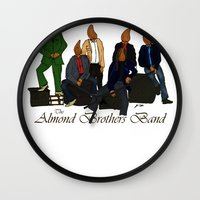 The Almond Brothers Band Wall Clock