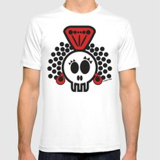 ***I´LL CARRY  on DANCING FLAMENCO even in  the GRAVE*** Mens Fitted Tee SMALL White