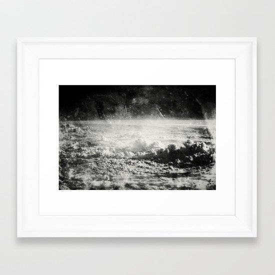 Somewhere Over The Clouds (I Framed Art Print