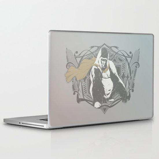 Fearless Creature: Grillz Laptop & iPad Skin
