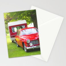 Let's go camping Stationery Cards