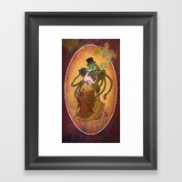 Steam Tale Framed Art Print