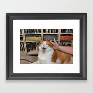 Captian Scarlett Got Pod… Framed Art Print