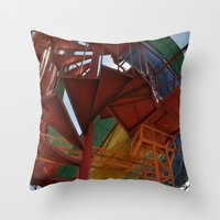 The Best Playground Ever Throw Pillow