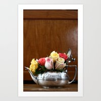 Rose Tea  Art Print