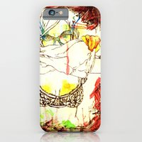 iPhone & iPod Case featuring Tease. . . by Time To Fight Studio