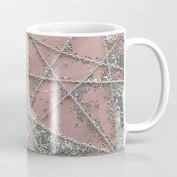 Sparkle Net Pink Mug