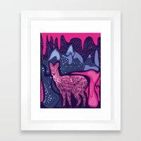 Musk Deer Framed Art Print