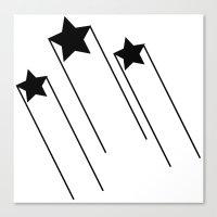 Shooting Stars 3 Canvas Print