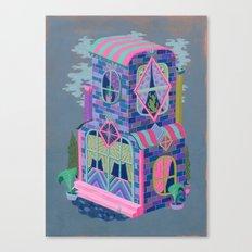 Diamond House Canvas Print