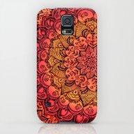 Ruby & Garnet Doodle Galaxy S5 Slim Case