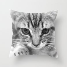 adorable neighbor Throw Pillow