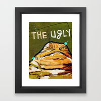 The Good, The Bad & The Ugly: Star Wars Framed Art Print